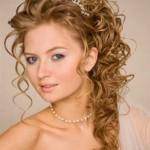 braut frisuren fur lockiges haar