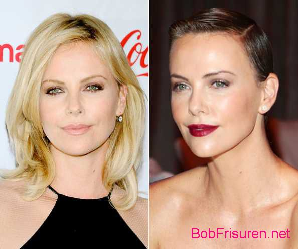 charlize theron langhaarfrisuren vs kurzhaarfrisuren 2015