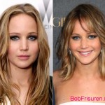 jennifer lawrence langhaarfrisuren vs kurzhaarfrisuren 2015
