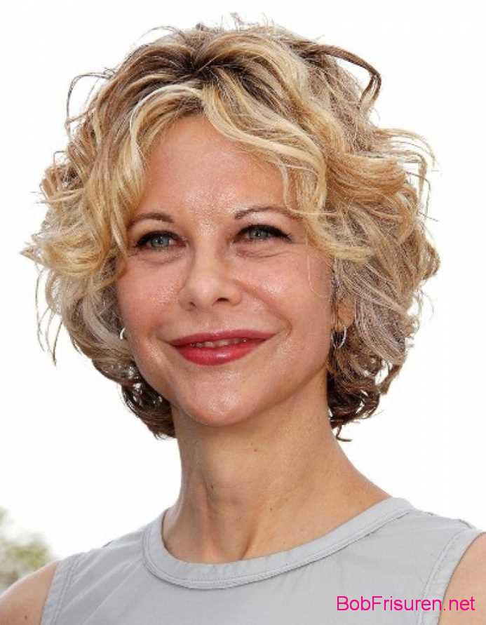 lockenfrisuren fur kurze haare blond