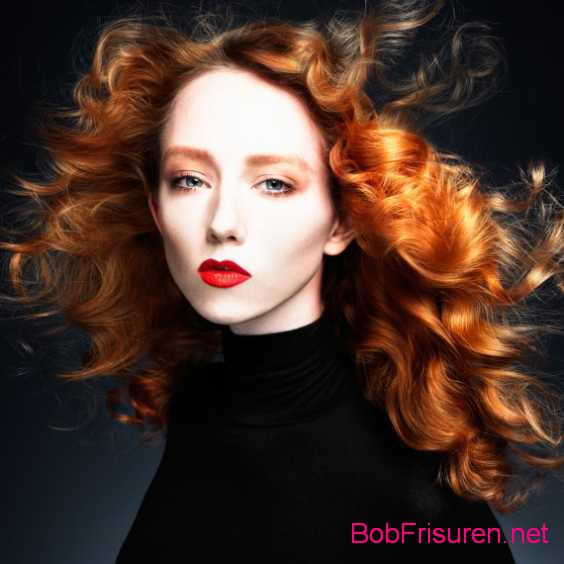rot frisuren locken