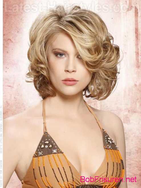 schonen frisuren kurzes lockiges haar