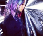 violette haarfarben ideen