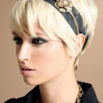 blonde pixie cut bob hairstyles