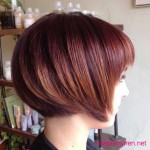 bob hairstyles colors red hair