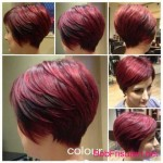 bob hairstyles red hair