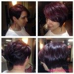 dark red bob hairstyles colors
