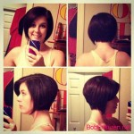 girls bob hairstyles colors