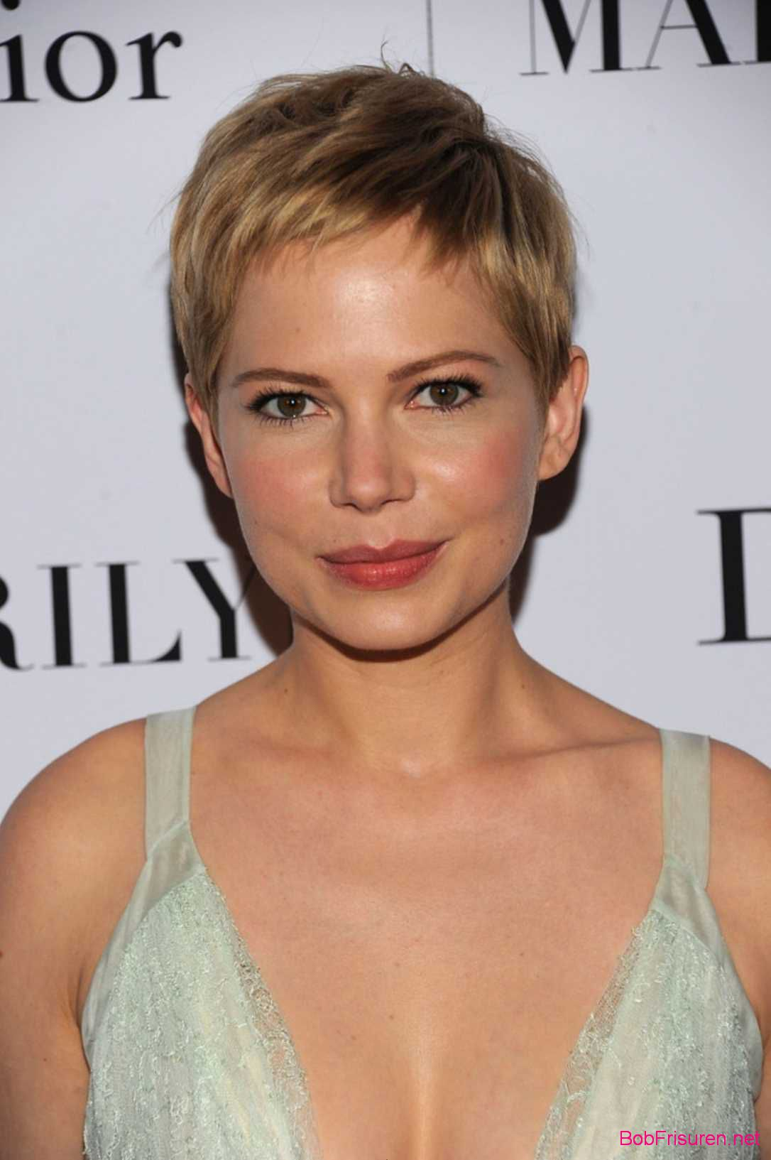 moderne frisuren 2015 kurz michelle williams