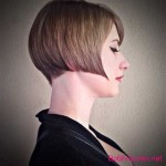 short bob hairstyles colors