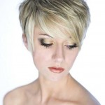 short hairstyles for blonde hair colours