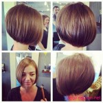 straight bob hairstyles colors