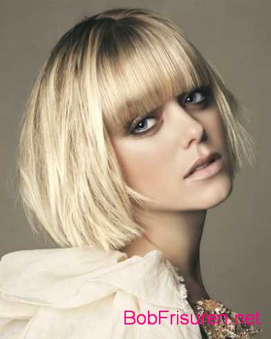 blond bob frisuren trends