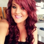 lila und rote haar frisuren trends 2015