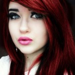 neue rote haar frisuren trends 2015