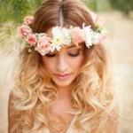 Blumen-Kronen-Frisuren ideen lang