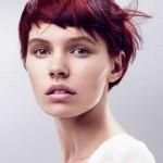 asymmetrische kurze haare farben