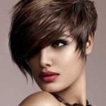 asymmetrische kurze haare frisuren