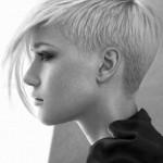 blond asymmetrische kurze haare frisuren