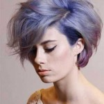 coole frisuren fur kurze haare farben
