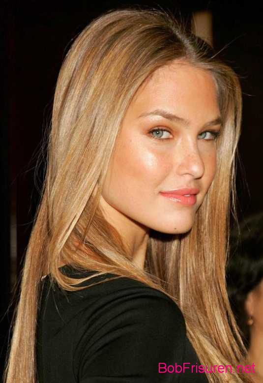 lang frisuren fuer blonde haare