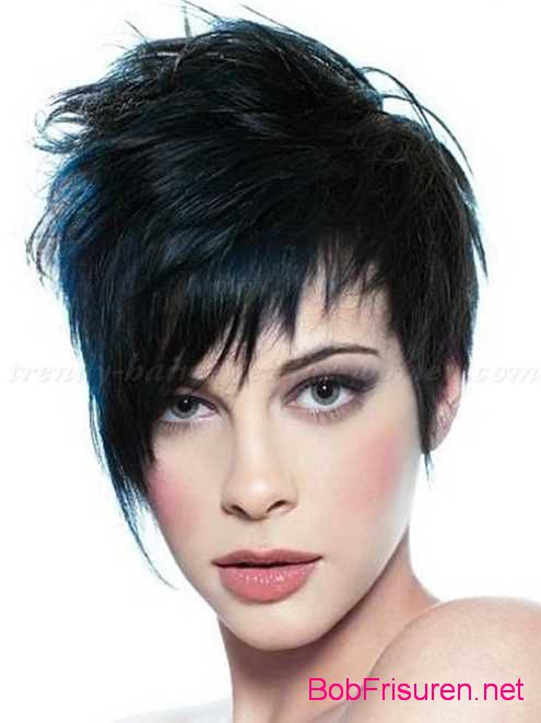 neue asymmetrische kurze haare frisuren