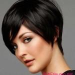 schwarz coole frisuren fur kurze haare