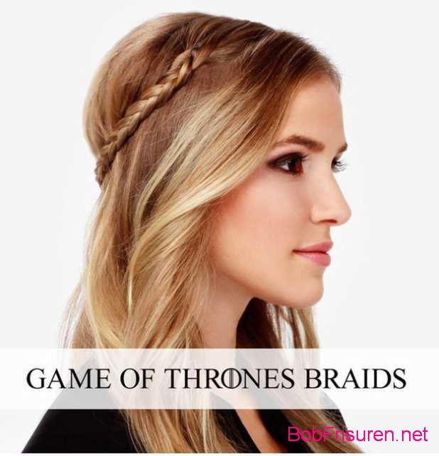 Game of Thrones Zopfe frisuren zum selber machen