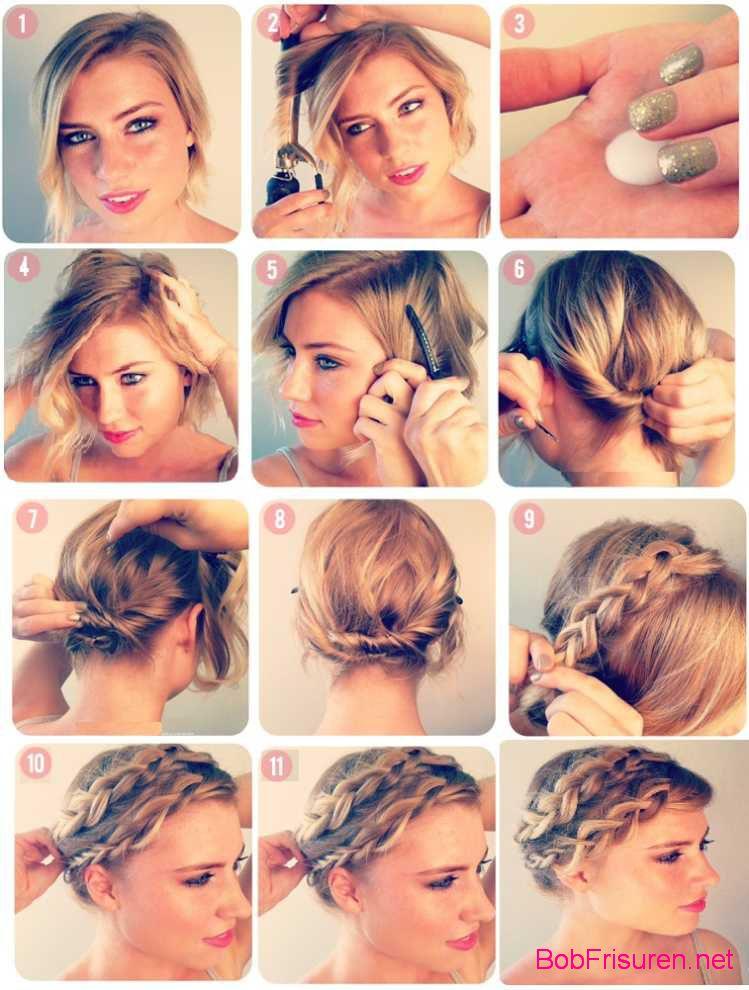 frisuren fur kurze haare anleitung