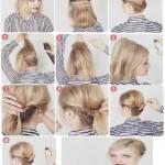 frisuren fur kurzes haare flechten