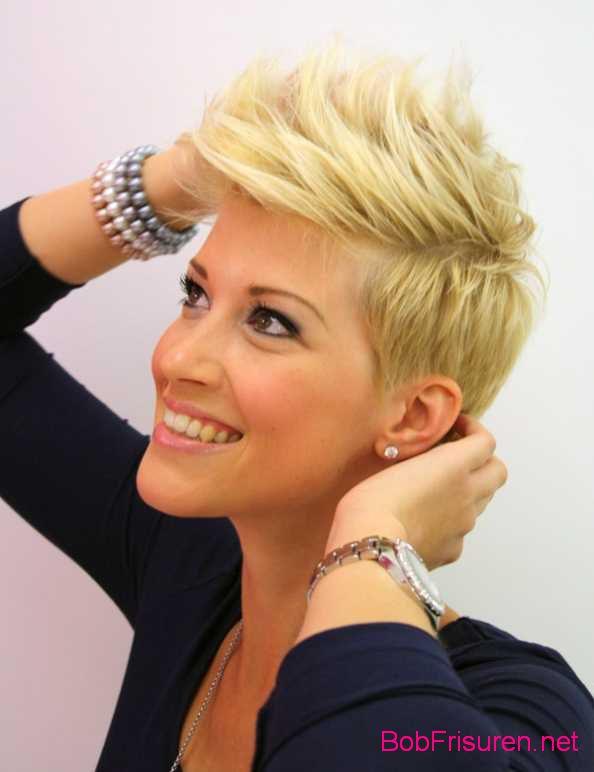 kurzhaarfrisuren damen 2015 blond