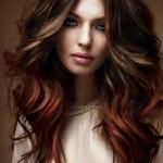 lange haare ombre frisuren