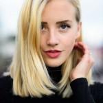 neue blond mittellange frisuren 2015