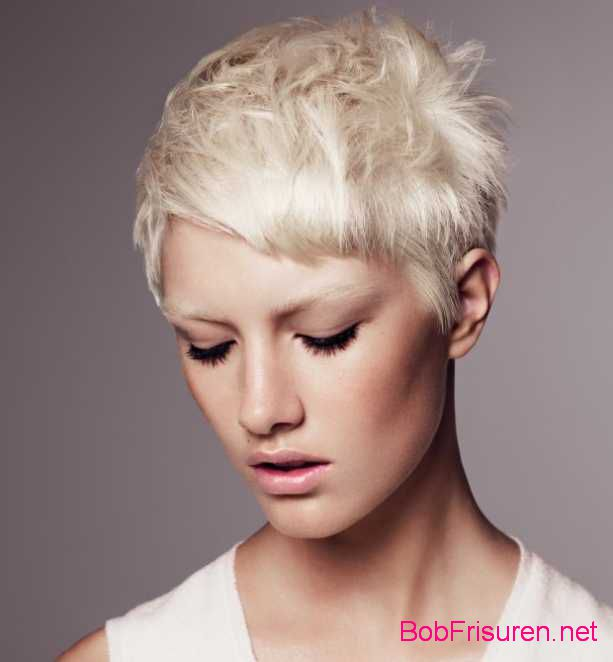 blond kurzhaarfrisuren damen 2015
