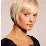 blondine bob frisuren fur feines haar