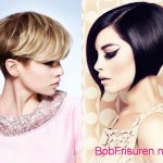trendy kurzhaarfrisuren winter frauen