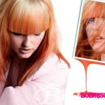 blond orange haarfarben trends