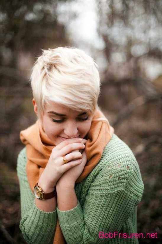blonde kurzhaarfrisuren 2016