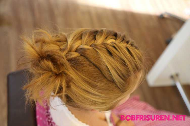 dirndl frisuren fur kurze haare flechten