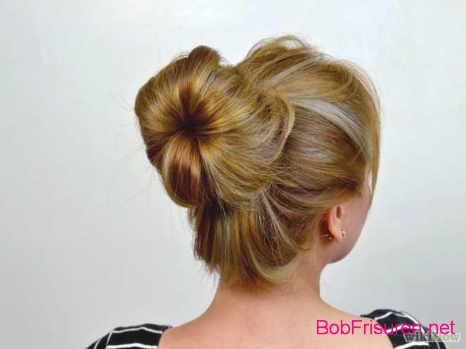einfache hochsteckfrisuren fur kurze haare