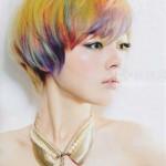 kurze haare haarfarben