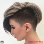 kurze haare stylen