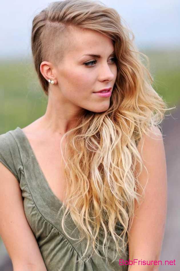 lange haare undercut frisuren frauen 2016