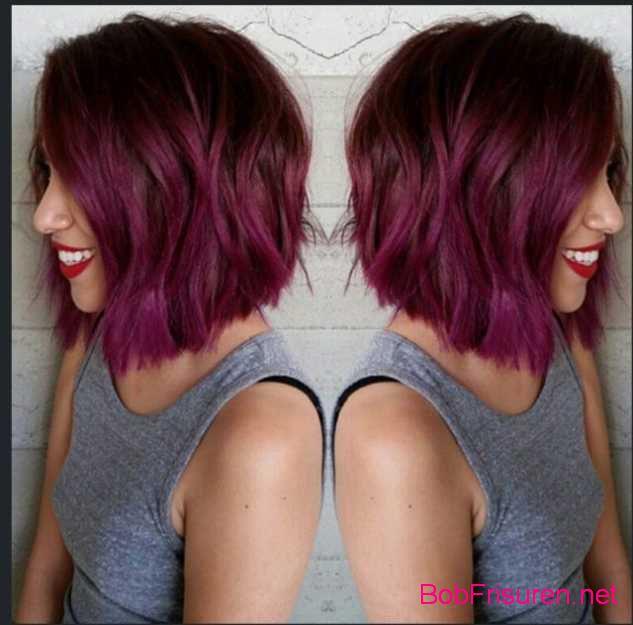 lila haarfarben fur bob frisuren 2016