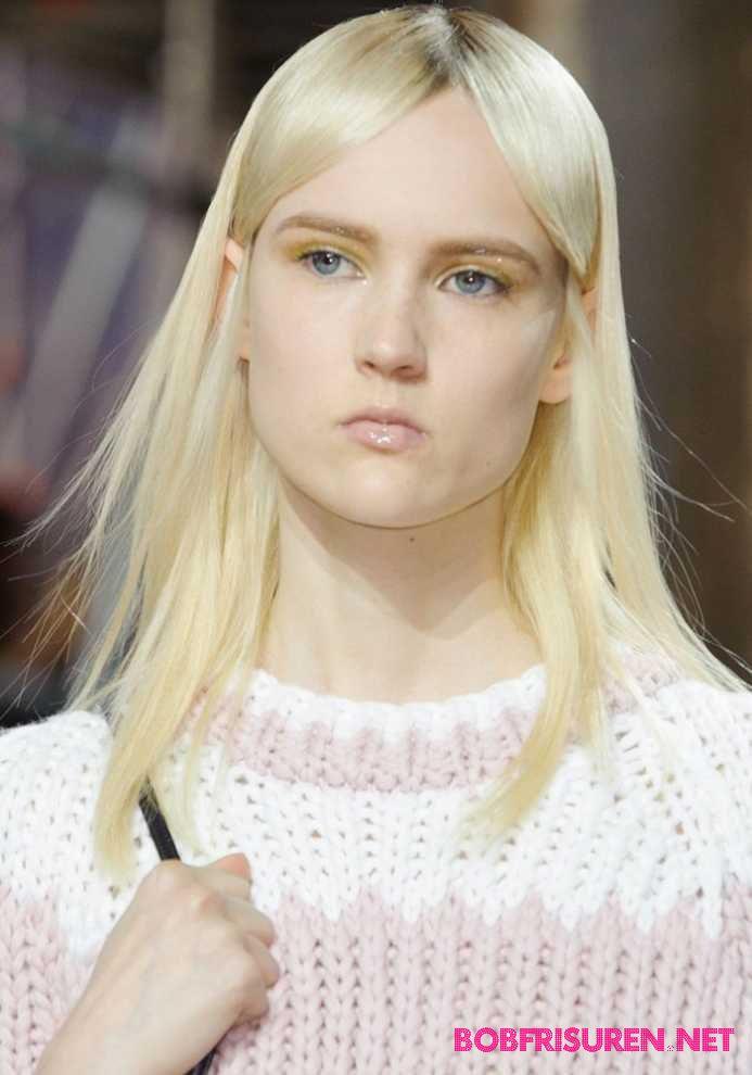 mittellange haare blond frisuren 2016
