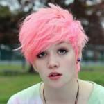 rosa pink frisuren 2016 kurz