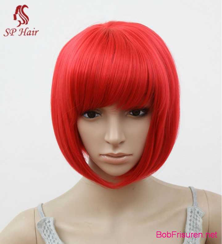 rote haarfarbe bob kurzhaarfrisuren jahr 2016