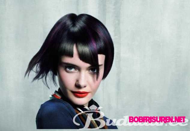schwarz lila haarfarben trends