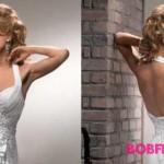 Hochzeitsfrisuren 2016 fuer Ausschnitt Kleid - Haar wellig
