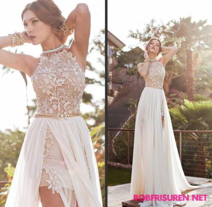 Hochzeitsfrisuren 2016 fur Ausschnitt Kleid – elegante chignon